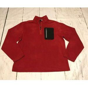 Orvis 1/4 zip fleece pullover men's Large